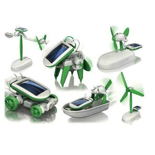 Gran-Ganga-Nuevo-6-en-1-para-la-Educacin-Solar-Kit-juguetes-Robot-Chameleon