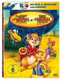 Mrs. Brisby und das Geheimnis von Nimh / Timmy und das Geheimnis von Nimh (+ Rio Activity Disc) [3 DVDs]