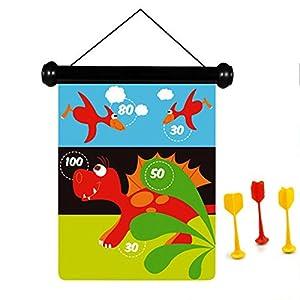 Scratch Rasguño - Juego de Dardos magnético Dinosaurio - Multicolor