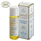 JOJOBA-ÖL, Wilco Classic, 100% Naturrein, für Körper und Gesicht, 100ml, Gesichts und Haut-Öl. Für die tägliche Hautpflege und Massage-Behandlung. Körper-Öl Anti-Falten/Anti-Aging aus der Natur. …
