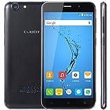 CUBOT Note S 5.5'' Smartphone Android 6.0 2 Go RAM + 16 Go ROM avec 1280x720 HD IPS Ecran / 4150mAh Batterie / Dual SIM / 5MP+8MP Dual Camera / MTK6580 Quad Core 1.3 GHz / WiFi / GPS (NOIR)