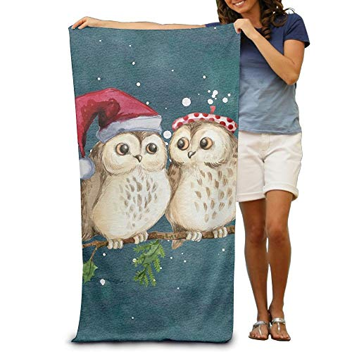 VTXWL Parrot with A Hat Adult Beach Towels Fast/Quick Dry Machine Washable Lightweight Absorbent Plush Multipurpose Use Quality Towels for Swim,Pool,Beach,Gym,Camping,Yoga Red Hat Lady Doll
