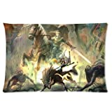 Generic Personalized The Legend of Zelda Ocarina of Time Pattern Sold By Too Amazing Rectangle Pillowcase 24x16 inches (one side)
