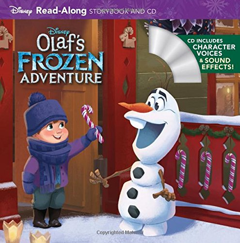Olaf's Frozen Adventure (Disney Storybook and CD)