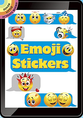 Emoji Stickers (Dover Little Activity Books Stickers) (Dover Books Sticker)