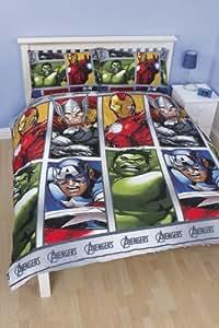 Disney Marvel Avengers Team Double Rotary Duvet Set