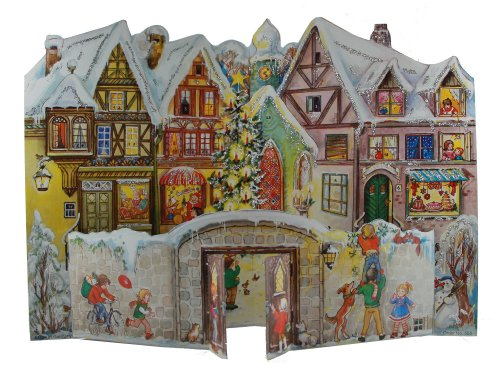 Sellmer Advent-Wandkalender, Motiv: Stadt