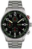 Astroavia N37S–Armbanduhr Herren, Armband in Edelstahl
