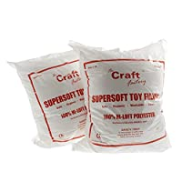 The Craft Factory Super Soft Toy Stuffing (250g) - 3 Pack