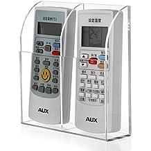 BTSKY Organizador de Control Remoto Soporte de Acrílico Para Acopiar Aire Acondicionado Control Remoto de Televisor