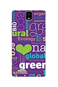 ZAPCASE PRINTED BACK COVER FOR INFOCUS M330- Multicolor