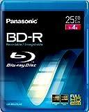 Panasonic LM-BRU25LAE 25GB Write Once Blu-ray Media 1-4xSpeed Video Box