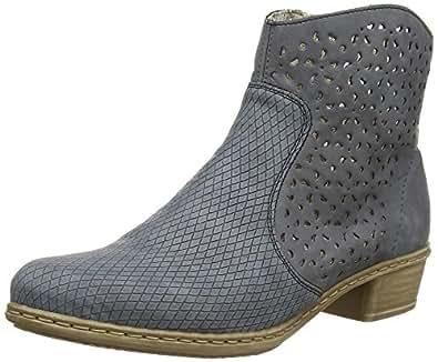 Rieker Y0766 Damen Halbschaft Stiefel  Amazon.de  Schuhe   Handtaschen cdf131f844