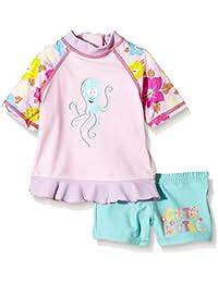 """Aquatinto mit """"Octopus & Cute Little""""-Print, UV +50 - baño Bebé-Niños"""