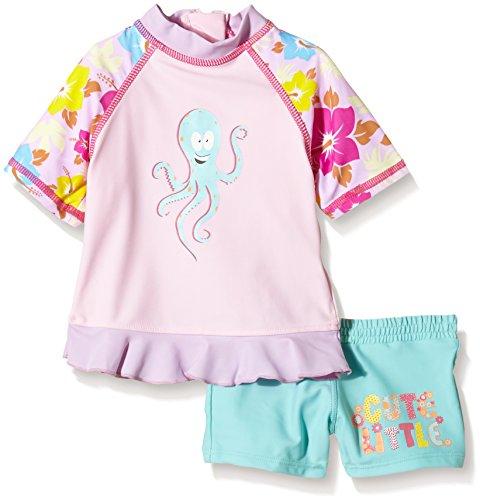 Aquatinto Baby - Mädchen Badeshirt und -hose mit