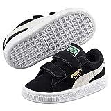 Puma, Sneakers Basses mixte enfant, Noir (Black/White), 23 EU...
