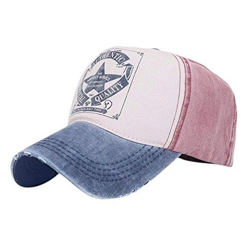 Yueunishi Unisexo Vendimia Gorra de Béisbol Sombreros Ajustable 38bdbeb768c