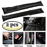 Ansblue Autositz-Füllstofffüller, Autositz-Gap-Stopper, PU-Leder auslaufsicher Protector Car Seat Pad In-Car-Schutz Reinigungsstecker
