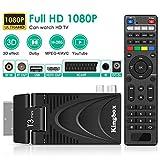 Decodeur TNT, DVB-T2 Pro Récepteur TNT HD Decodeur Terrestre Câble TV 1080P / Décodeur TNT HD DVB-T2 TV Box / H.265 /Dolby / Multimedia/ Youtube