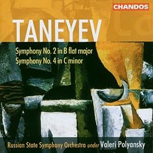 Symphonies N 2 En Si B Maj. & N 4 En Ut Min.