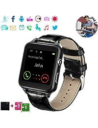 Reloj Inteligente Bluetooth, Smartwatch Pantalla Táctil Impermeable Smart Watch con Camara,Reloj Bracelet para…