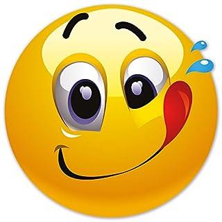 Smiley Fun Aufkleber Motiv 14, 20 cm, selbstklebend, glänzend für Auto, Motorrad, Fahrrad, Boot oder Caravan