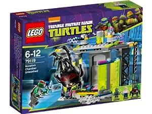 LEGO Ninja Turtles Tm 79119 - La Camera Delle Mutazioni
