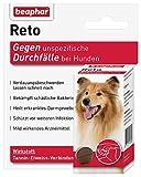 Reto Durchfalltabletten | Mittel gegen Durchfall bei Hunden | Reisetabletten für Hunde | Wirken stopfend | 30 Durchfalltabletten