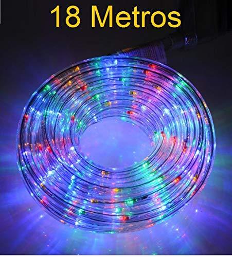 MANGUERA LED LUZ NAVIDAD FIESTA COLORES RGB MULTICOLOR