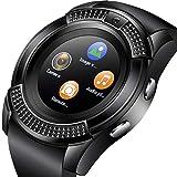 Spirili NK8 4G Cell Phone Smartwatch with Camera | Round Dial | SIM