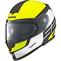Casque de moto de jaune d'élite de sport de Schuberth S2