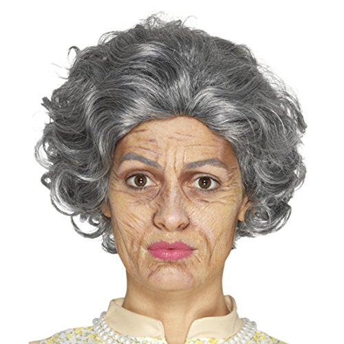 Amakando Oma Schminkset Großmutter älter Aussehen Falten schminken Opa Theaterschminke Schminke...