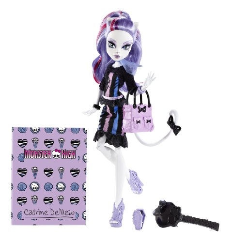 Monster High-bgt36-Puppe-Catrine-mew