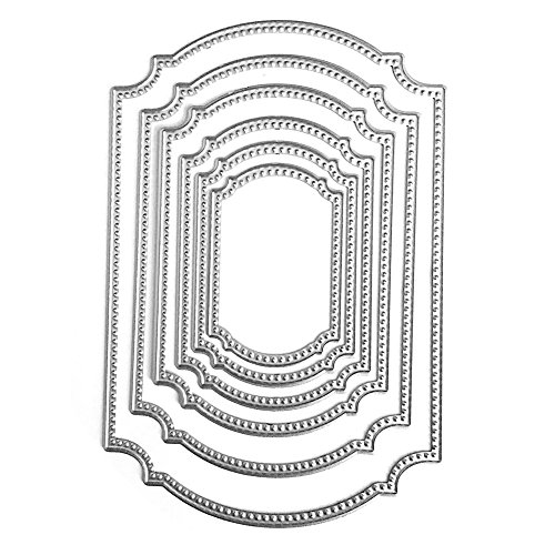 CALISTOUS Polygon Frame Cut Cutting Dies Stencils DIY Scrapbook Card Making Decoration Tool Gift Test