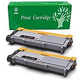 GREENSKY 2 paquetes cartucho de tóner compartible de reemplazo para Brother TN2320 TN2310 TN 2320 TN 2310 para Brother HL-L2300D HL-L2320D HL-L2340DW HL-L2360DN HL-L2360DW HL-L2365DW HL-L2380DW,DCP-L2500D DCP- L2520DW DCP-L2540DN DCP-L2540DW,MFC-L2700DW MFC-L2720DW MFC-L2740DW Impresora - 2 Negro