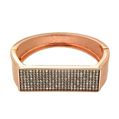sweet deluxe 6874 Damen Armspange Zalina, rosegold/crystal (Deluxe-armband)