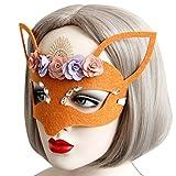 Masques, SHOBDW En Dentelle Noire Masque Masque de Dentelle Noir pour les Yeux pour Mascarade Fête Costumée (Noir(D))