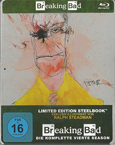 Season 4 (Steelbook) (Limited Edition) [Blu-ray]