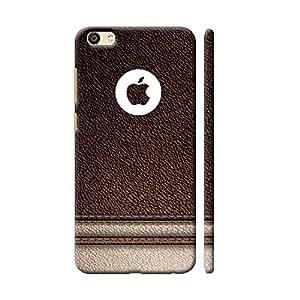 online retailer e59aa 24532 Clapcart Vivo V5 / Vivo V5s Designer Printed Back Cover for Vivo V5 / Vivo  V5s - Leather Color (Leather Design)