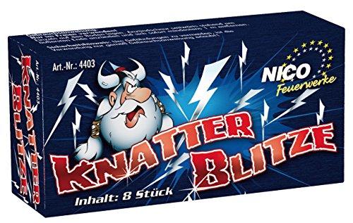NICO® 4403 Jugend Feuerwerk knatter Blitze 1 Pack 8tück knatter Blitze