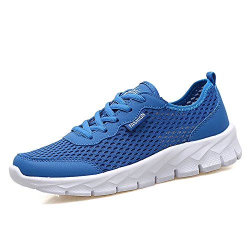 info for 6377e a39a1 JIASUQI Wome s Breathable Mesh Crosstrainer Bowling Shoes Sports Running  Casual Sneakers Blue 3.5 UK