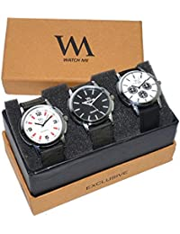 Watch Me Watch 3 Combo Gift Set Of Watches For Boys Men WDM-007-008-009omtbg