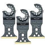 3x topstools stl45tb _ 345mm x 40mm Titan HSS Bimetall Klingen für Bosch Fein Starlock Plus Max AUTOCLIC Multi Tool Zubehör