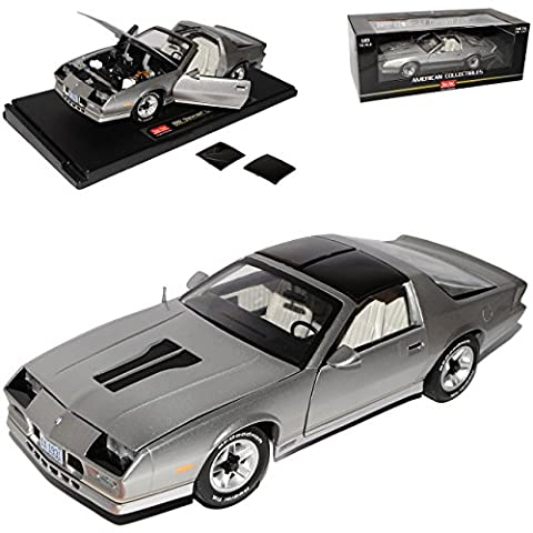 Chevrolet Chevy Chevy Camaro Z28 Coupe Silber 3. Generation 1982-1993 1/18 Sun Star Modell Auto mit individiuellem