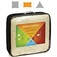 Purovi Toldo Rectangular | Varias Dimensiones | Protección UV | PES Impermeable | 3,5 x 5 m