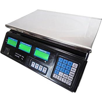 Baxtran DSC3 Balance compte-pi/èces industrielle DSC3 30 kg x 0,1 g 29/x 23/cm