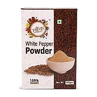 Chounk White Pepper Powder (Safed Mirch Powder), 100g