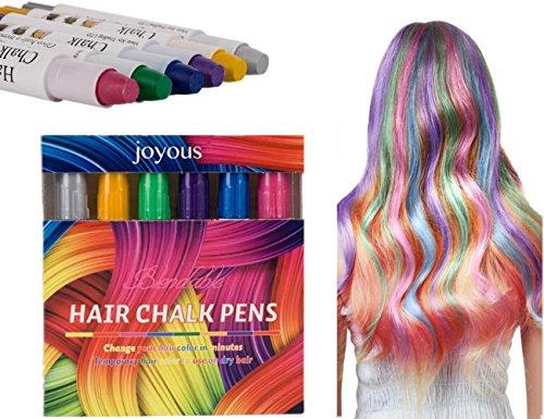 aar Haarfarbe Färben ungiftig für alle Farben der Haar für Mädchen Damen (Roten Kostüm Die Haare Färben)