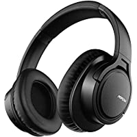 Mpow H7 Cascos Bluetooth Diadema, 25hrs de Reproducir, Hi-Fi Sonido, Cascos Bluetooth Inalámbricos con Micrófono Incorporado, Auriculares Bluetooth Diadema para TV, Móvil, PC-Negro