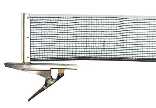 Donic-Schildkröt Tischtennisnetz Clipmatic, wetterfestes Nylonnetz, schnell zu befestigende Cliphalterungen, max. Plattenstärke 4,0 cm, 808335